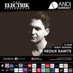 Electrik Playground 11/10/20 inc Redux Saints Guest Session